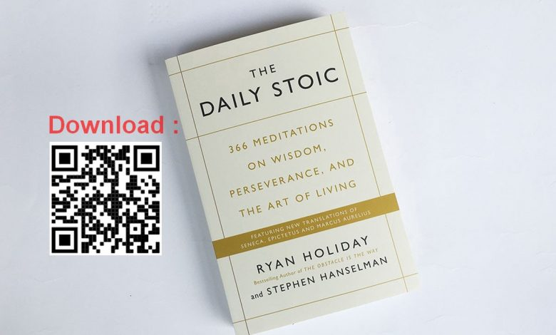 Download sách The Daily Stoic tiếng Việt