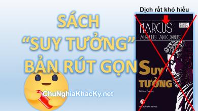 "Photo of DOWNLOAD EBOOK SÁCH ""SUY TƯỞNG"" PDF CỦA MARCUS AURELIUS"